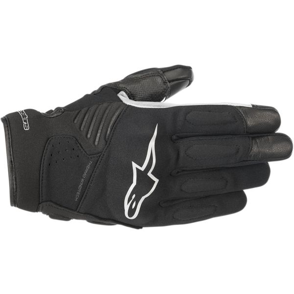 Manusi Sport si Piele Alpinestars Manusi Textile Faster Black/White 2020