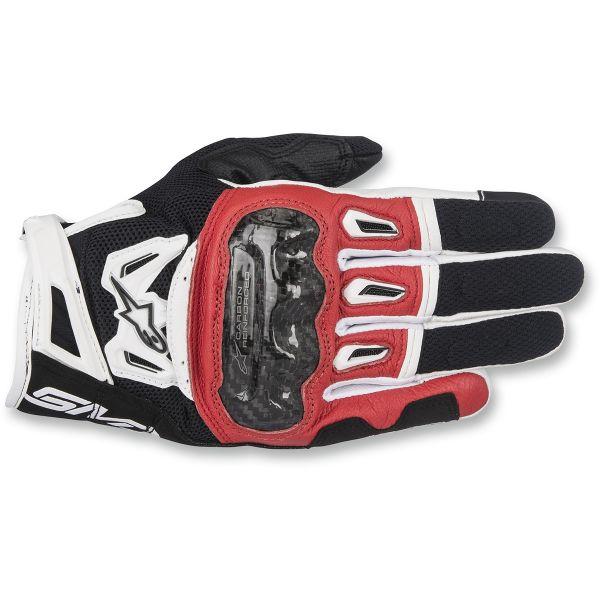 Manusi Sport si Piele Alpinestars Manusi Textile SMX-2 Air Carbon V2 Black/White/Red 2020