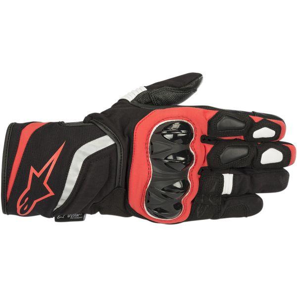 Manusi Moto Touring Alpinestars Manusi Textile T-SP W Drystar Black/Red 2020