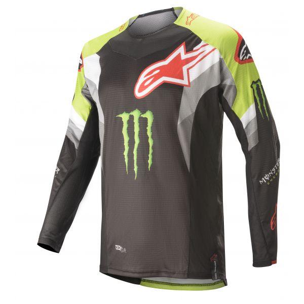 Tricouri MX-Enduro Alpinestars Monster ET MX Jersey S20 Multicolor/Black