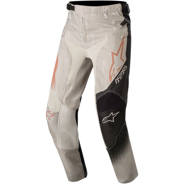 Pantaloni MX-Enduro Copii Alpinestars Pantaloni Copii Racer Factory S20 Gray/Rust