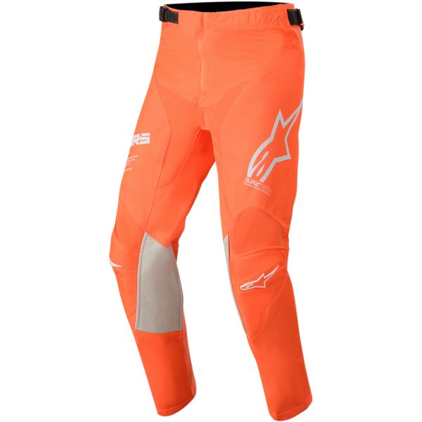 Pantaloni MX-Enduro Copii Alpinestars Pantaloni Copii Racer Tech S20 Orange/White