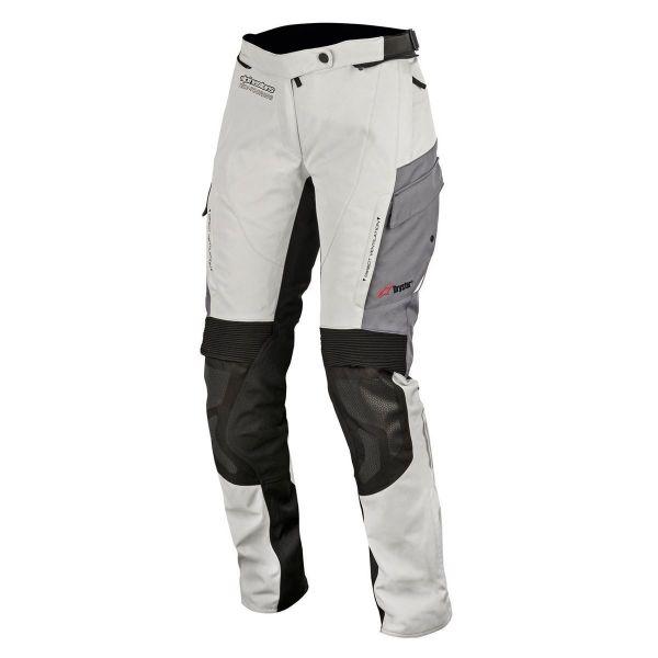 Pantaloni Moto Textil - Dama Alpinestars Pantaloni Dama Stella Andes V2 Drystar WP Gri/Negru
