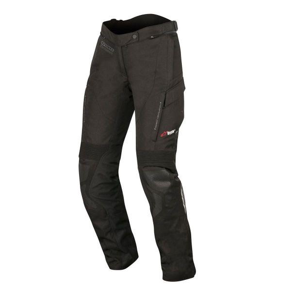 Pantaloni Moto Textil - Dama Alpinestars Pantaloni Dama Stella Andes V2 Drystar WP Negru