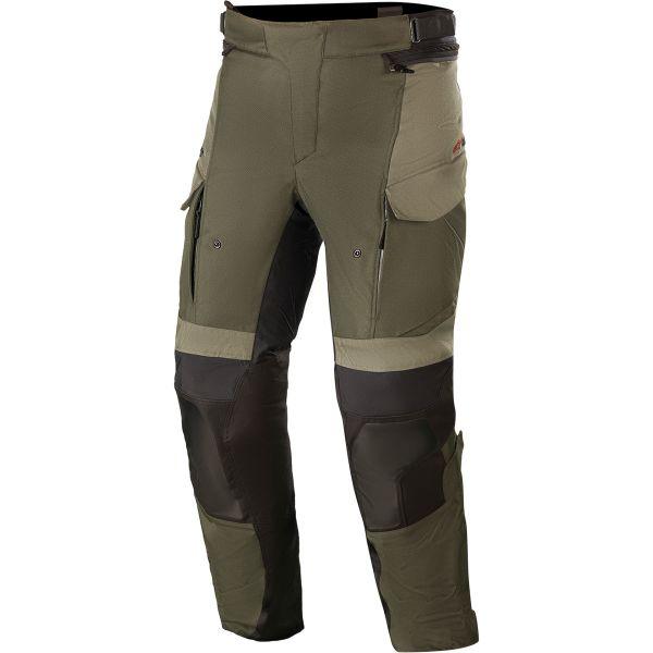 Pantaloni Moto Textil Alpinestars Pantaloni Moto Textil Andes v3 Rainsuit Green 2021