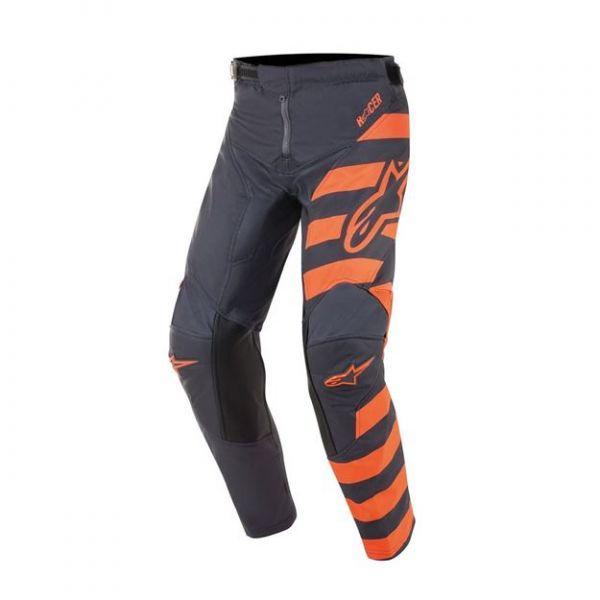 Pantaloni MX-Enduro Copii Alpinestars Pantaloni MX Copii Braap Antracit/Portocaliu 2020