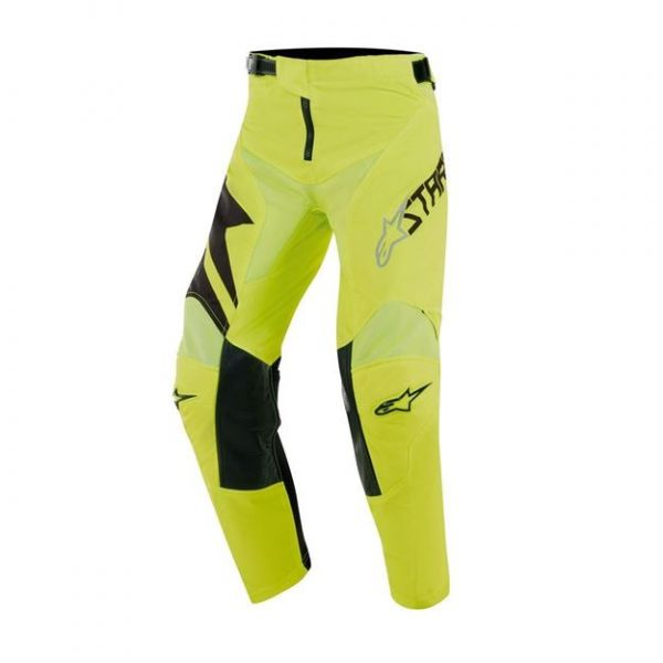 Pantaloni MX-Enduro Copii Alpinestars Pantaloni MX Copii Factory Negru/Galben 2020