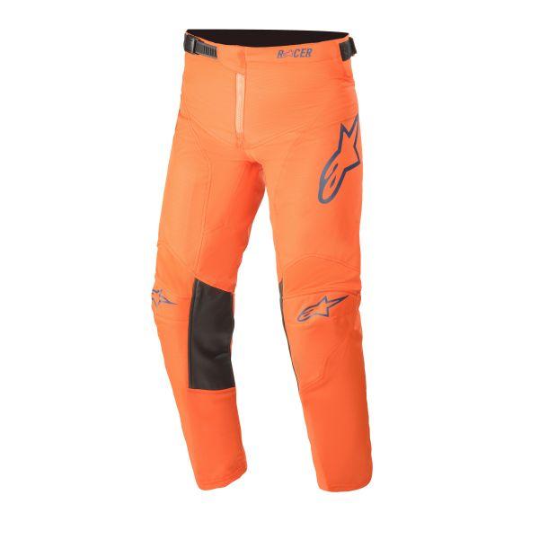 Pantaloni MX-Enduro Copii Alpinestars Pantaloni MX Copii Racer Blaze Portocaliu 2021