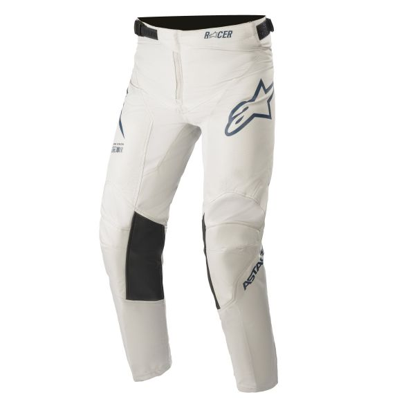 Pantaloni MX-Enduro Copii Alpinestars Pantaloni MX Copii Racer Braap Gri/Albastru 2021