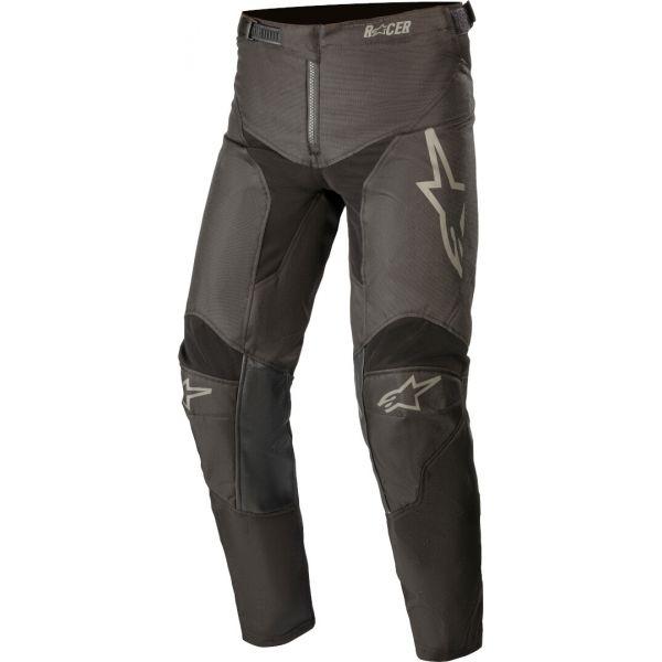 Pantaloni MX-Enduro Copii Alpinestars Pantaloni MX Copii Racer Compass Negru/Gri 2021