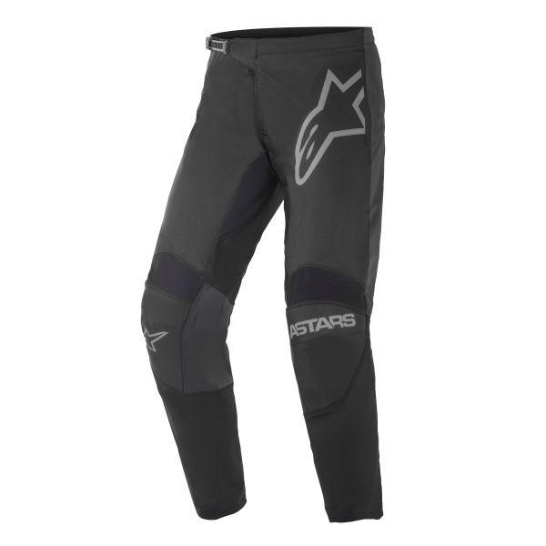 Pantaloni MX-Enduro Alpinestars Pantaloni MX Fluid Graphite Negru/Gri 2021