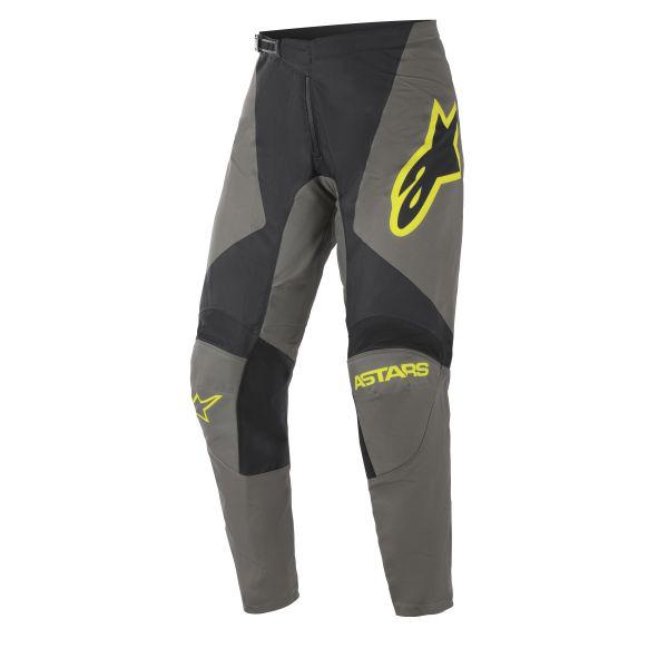 Pantaloni MX-Enduro Alpinestars Pantaloni MX Fluid Speed Gri/Galben 2021