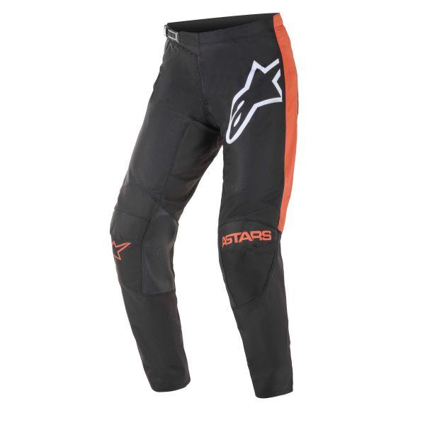 Pantaloni MX-Enduro Alpinestars Pantaloni MX Fluid Tripple Negru/Portocaliu 2021