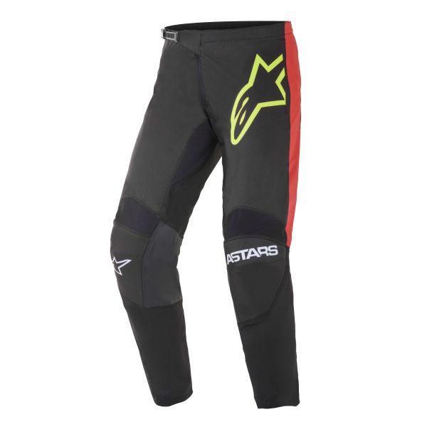 Pantaloni MX-Enduro Alpinestars Pantaloni MX Fluid Tripple Negru/Rosu 2021