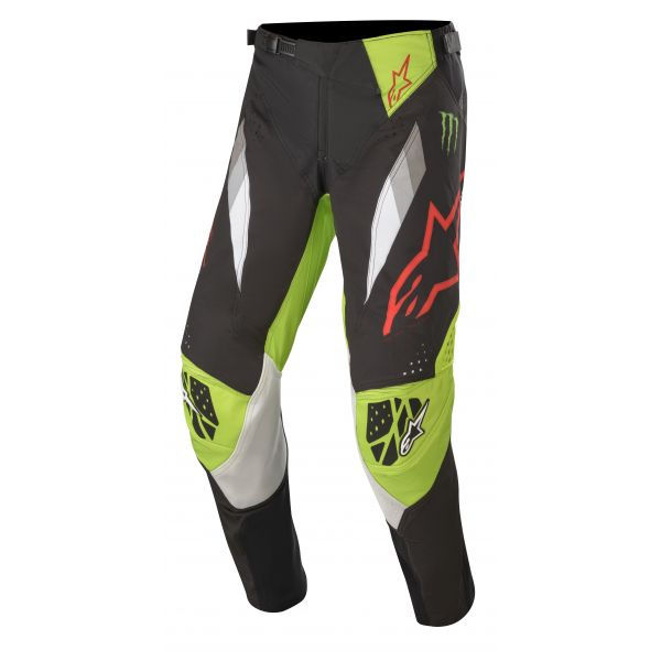Pantaloni MX-Enduro Alpinestars Pantaloni MX Monster ET S20 Multicolor/Negru