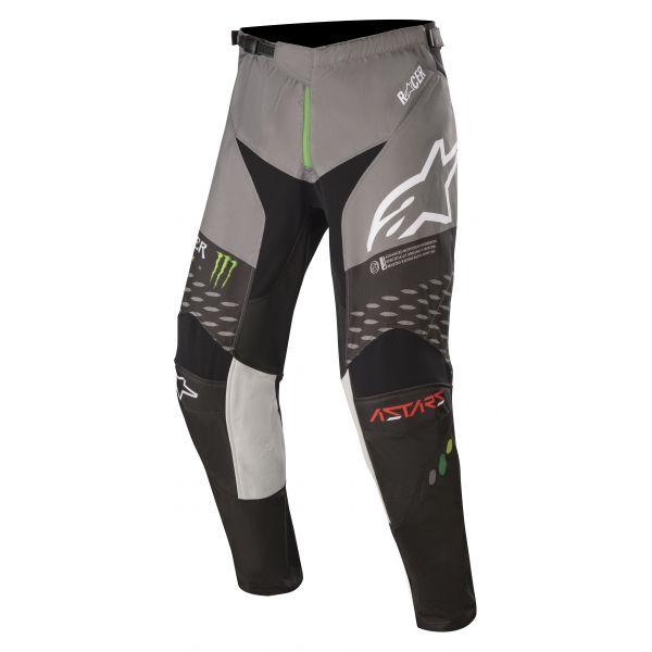 Pantaloni MX-Enduro Alpinestars Pantaloni MX Monster Raptor Gear S20 Negru/Verde