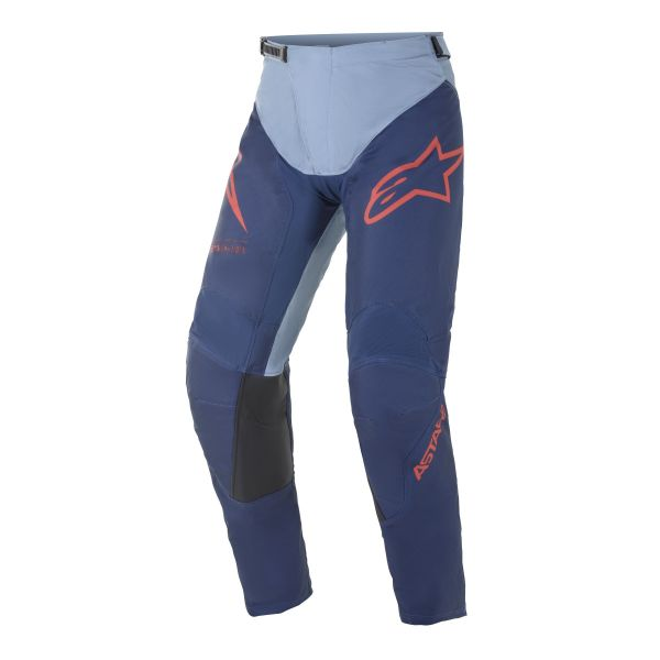 Pantaloni MX-Enduro Alpinestars Pantaloni MX Racer Braap Albastru/Rosu 2021