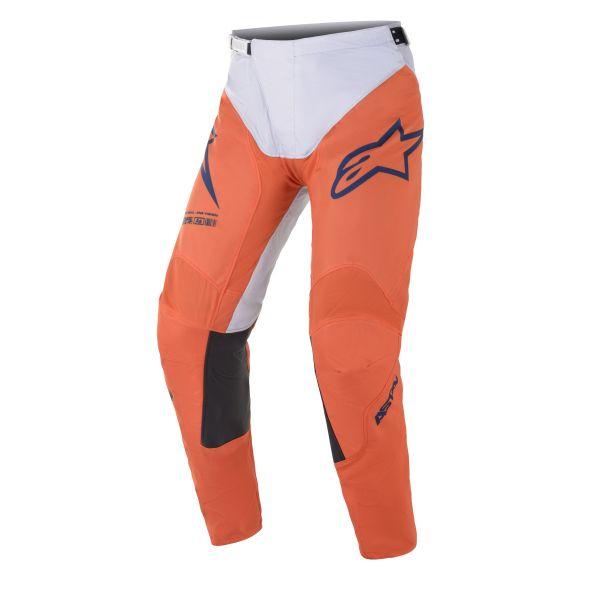 Pantaloni MX-Enduro Alpinestars Pantaloni MX Racer Braap Portocaliu/Gri 2021