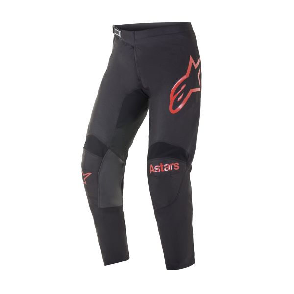 Pantaloni MX-Enduro Alpinestars Pantaloni MX Racer Fluid Chaser Negru/Rosu 2021
