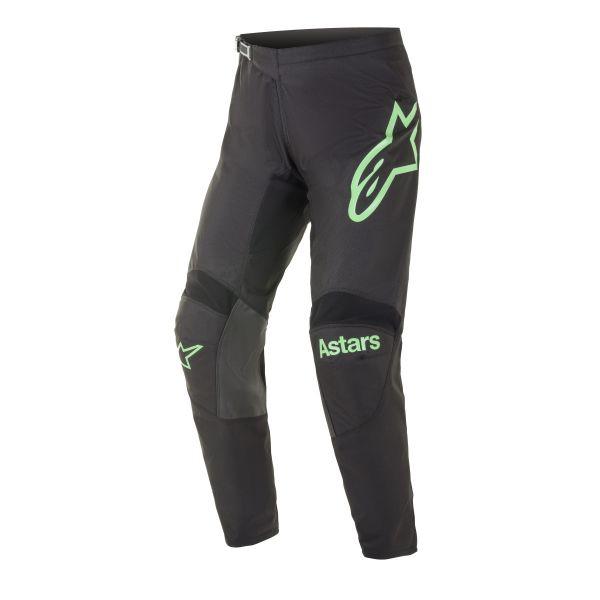 Pantaloni MX-Enduro Alpinestars Pantaloni MX Racer Fluid Chaser Negru/Verde 2021
