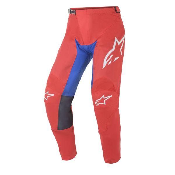 Pantaloni MX-Enduro Alpinestars Pantaloni MX Racer Supermatic Multicolor/Rosu 2021