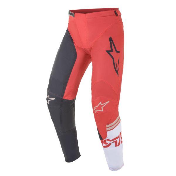 Pantaloni MX-Enduro Alpinestars Pantaloni MX Racer Tech Compass Antracit/Rosu 2021