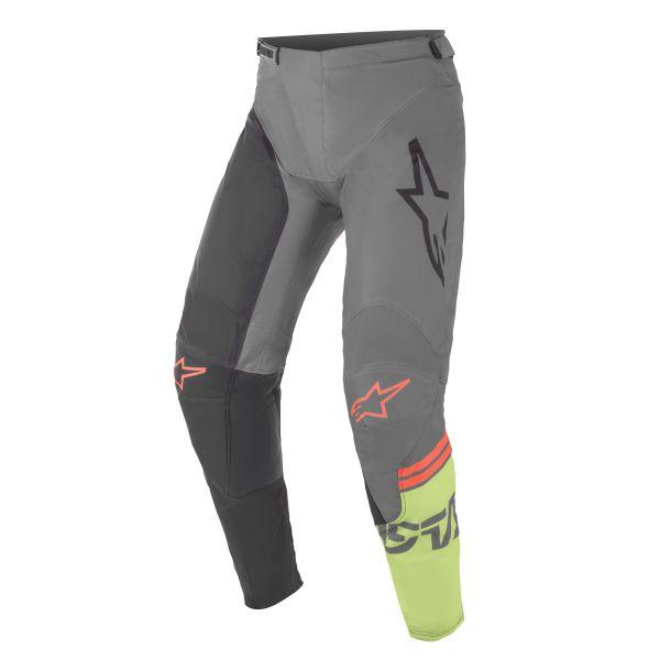 Pantaloni MX-Enduro Alpinestars Pantaloni MX Racer Tech Compass Multicolor/Gri 2021