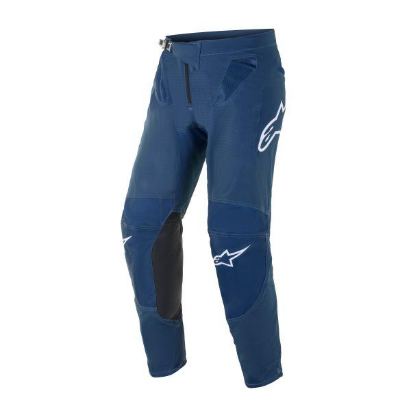 Pantaloni MX-Enduro Alpinestars Pantaloni MX Supertech Blaze Albastru 2021