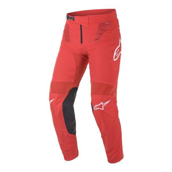 Pantaloni MX-Enduro Alpinestars Pantaloni MX Supertech Blaze Rosu 2021