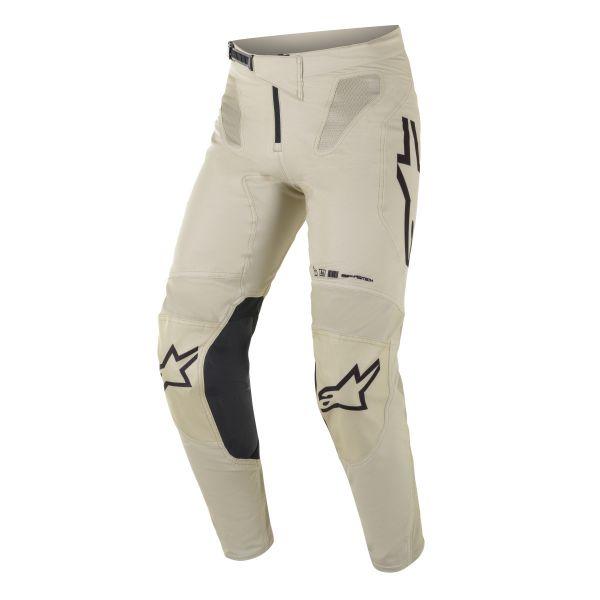 Pantaloni MX-Enduro Alpinestars Pantaloni MX Supertech Foster Bej/Negru 2021
