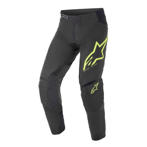 Pantaloni MX-Enduro Alpinestars Pantaloni MX Techstar Factory Negru/Galben 2021