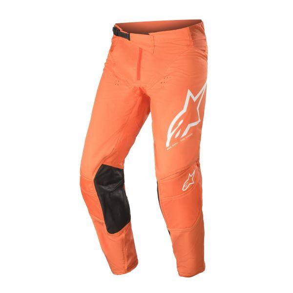 Pantaloni MX-Enduro Alpinestars Pantaloni MX Techstar Factory Portocaliu/Alb 2021