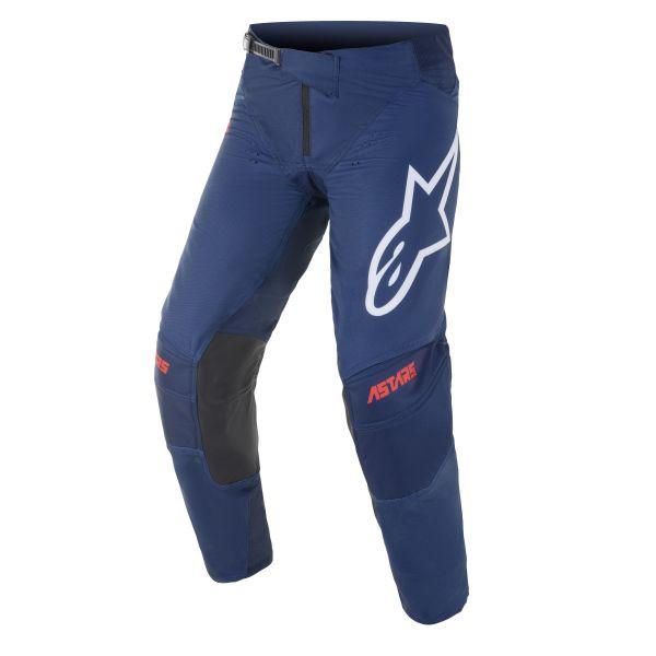 Pantaloni MX-Enduro Alpinestars Pantaloni MX Techstar Venom Albastru/Rosu/Alb 2021