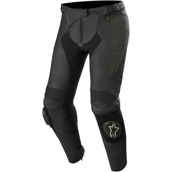 Pantaloni Piele - Dama Alpinestars Pantaloni Piele Dama Stella Missile V2 Airflow Negru 2020