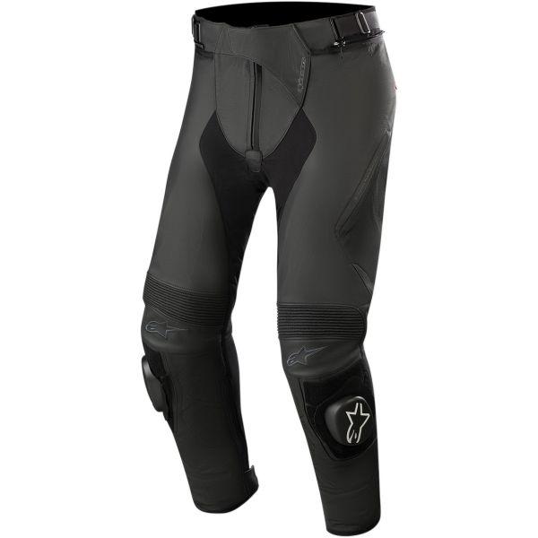 Pantaloni Moto Piele Alpinestars Pantaloni Piele Missile V2 Negru 2020