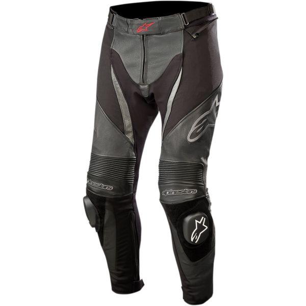 Pantaloni Moto Piele Alpinestars Pantaloni Piele/Textili SP X Negru 2020