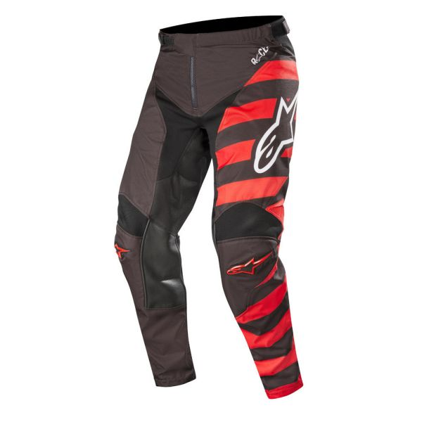 Pantaloni MX-Enduro Alpinestars Pantaloni Racer Braap Black/Red S9