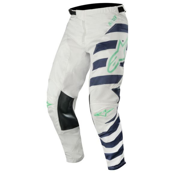 Alpinestars Pantaloni Racer Braap Gray/Navy/Teal S9