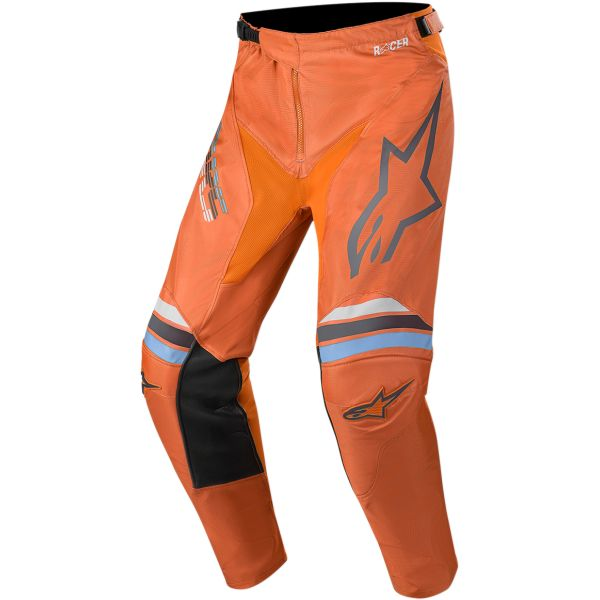 Pantaloni MX-Enduro Alpinestars Pantaloni Racer Braap S20 Gray/Orange