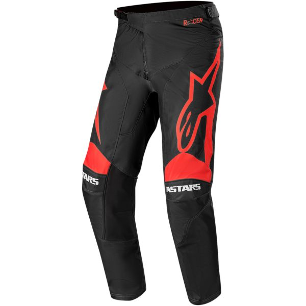 Pantaloni MX-Enduro Alpinestars Pantaloni Racer Supermatic S20 Black/Red