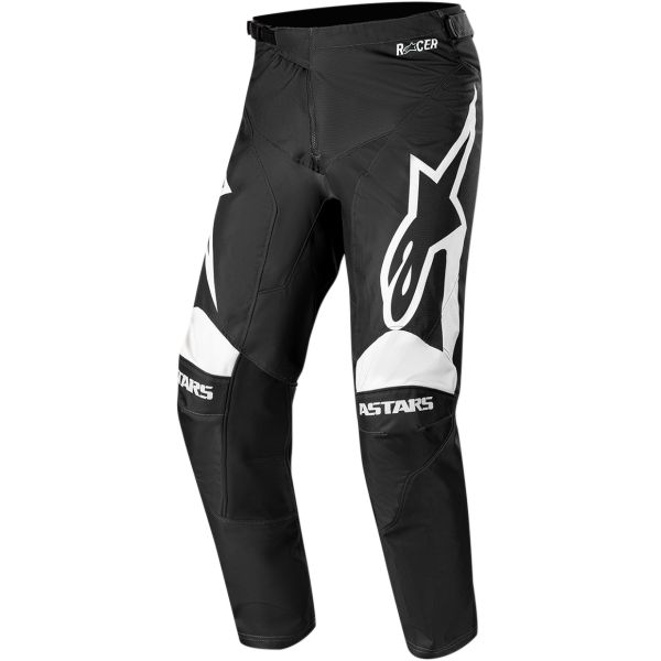 Pantaloni MX-Enduro Alpinestars Pantaloni Racer Supermatic S20 Black/White