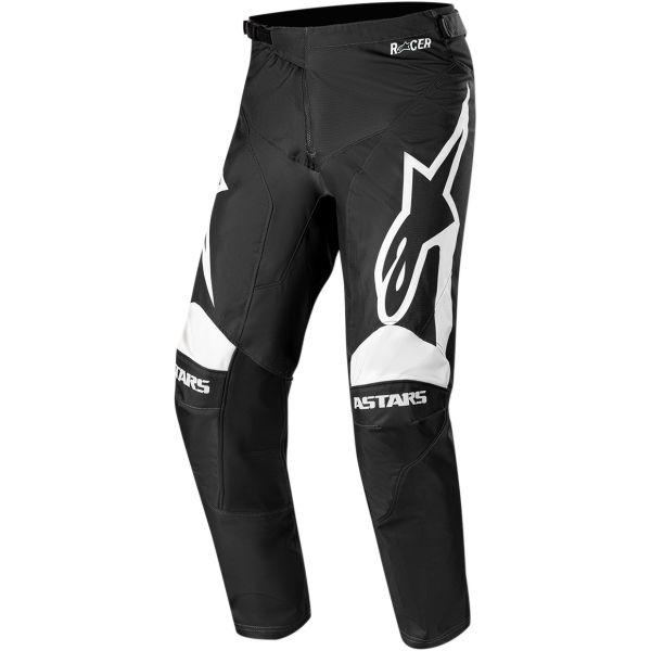Alpinestars Pantaloni Racer Supermatic S20 Black/White