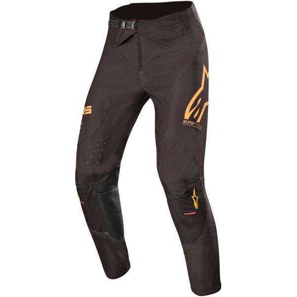 Pantaloni MX-Enduro Alpinestars Pantaloni Supertech S20 Black/Orange