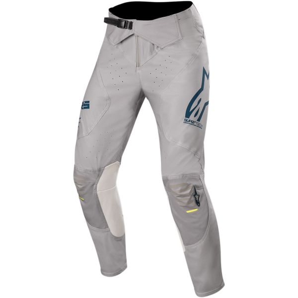 Pantaloni MX-Enduro Alpinestars Pantaloni Supertech S20 Gray/Navy/White