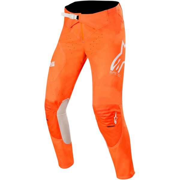 Pantaloni MX-Enduro Alpinestars Pantaloni Supertech S20 Orange/Blue/White
