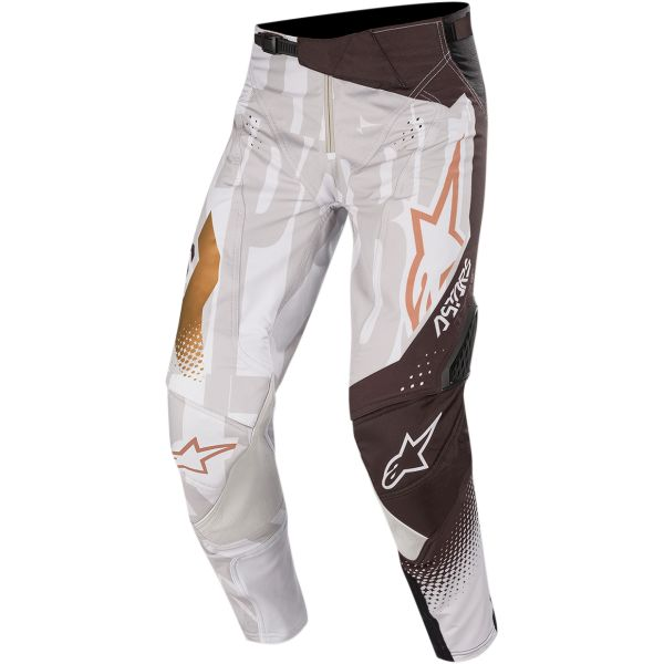Pantaloni MX-Enduro Alpinestars Pantaloni Techstar Factory  Metal S20 Gray/Black/Copper