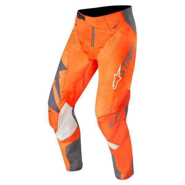 Pantaloni MX-Enduro Alpinestars Pantaloni Techstar Factory Orange/Anthracite S9