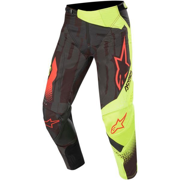 Pantaloni MX-Enduro Alpinestars Pantaloni Techstar Factory S20 Black/Yellow/Red