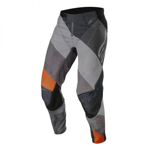 Pantaloni MX-Enduro Alpinestars Pantaloni Techstar Venom Black/Gray/Orange S9