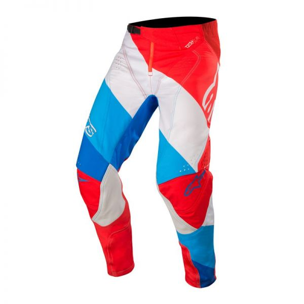 Pantaloni MX-Enduro Alpinestars Pantaloni Techstar Venom Blue/Red/White S9
